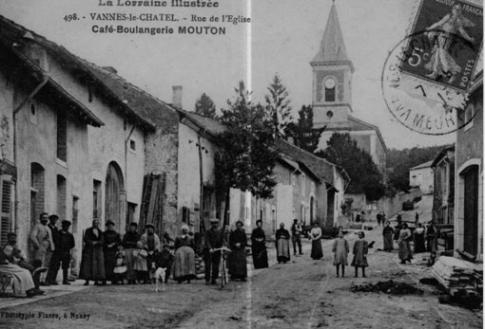 le village Vannes le Châtel