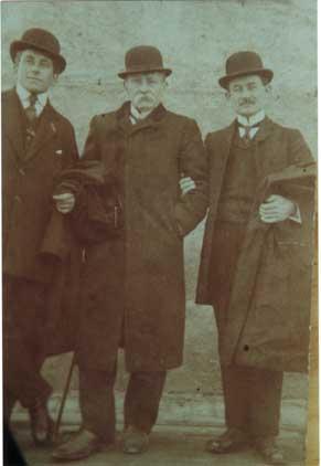 Emile, Nicolas et F.Charles