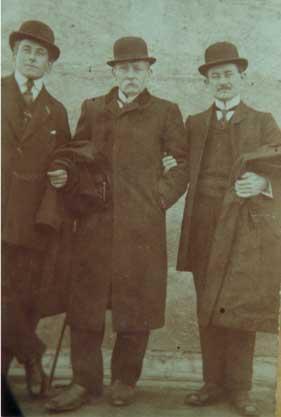 Nicolas avec ses deux fils