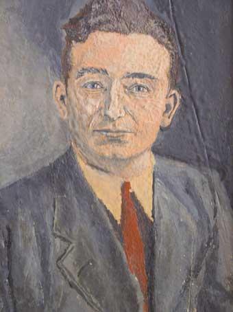 Charles Schmitt autoportrait