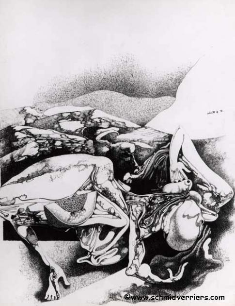 corps éventrés