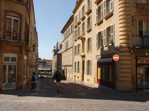 rue de la Paix à Metz