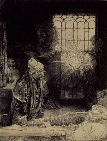 Dr Faustus de Rembrandt