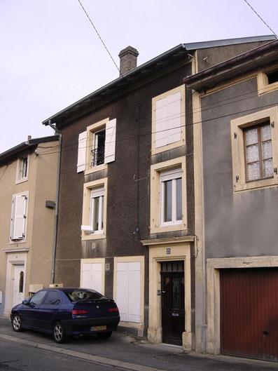 Maison de Nicolas Schmitt à Moyeuvre